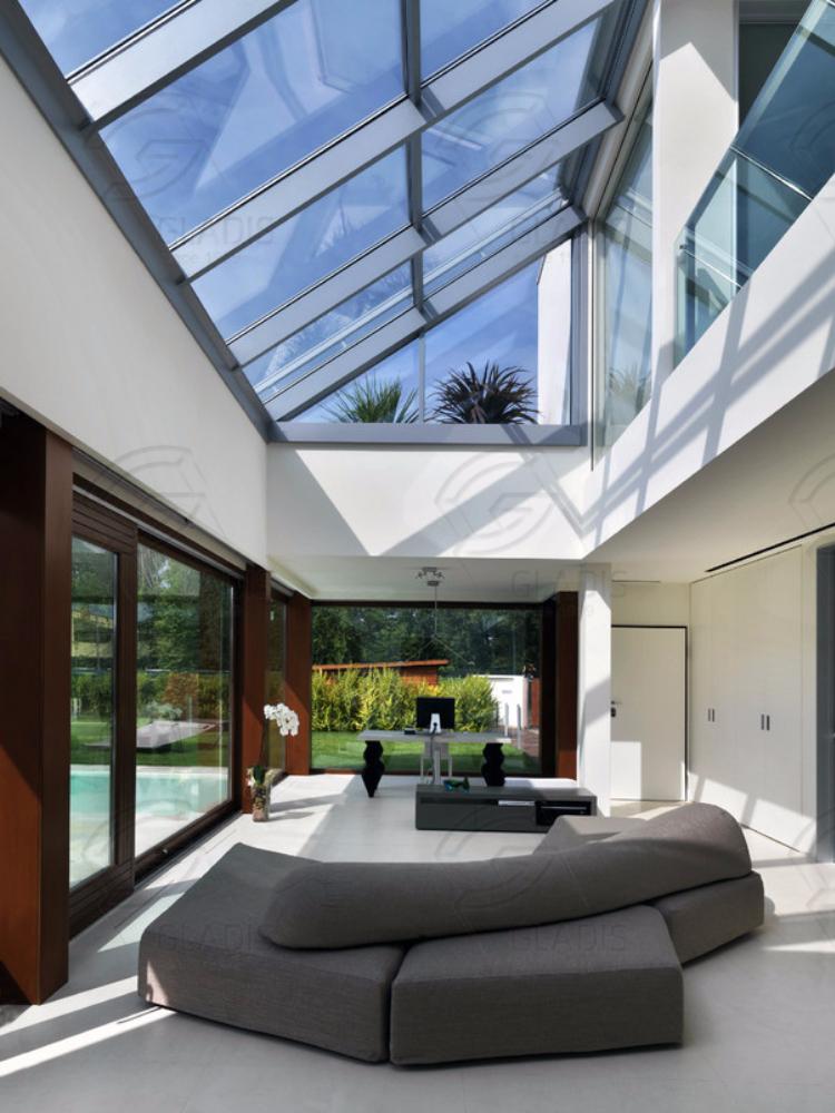 стеклянные крыши для частных домов фото быстро
